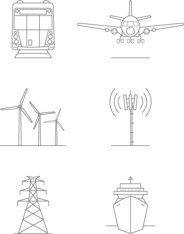 Infraco services icons